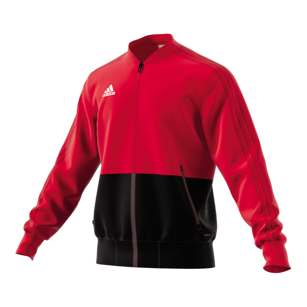 adidas Trainingsjacke Condivo 18 rotweiß Fussball Shop