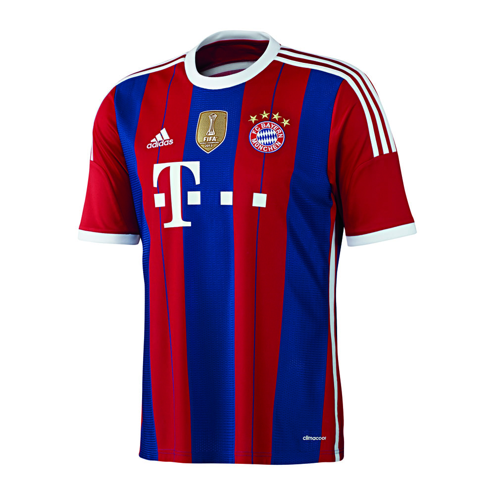 FC Bayern München Heimtrikot 2014/2015 Kinder inkl. WC Batch 176