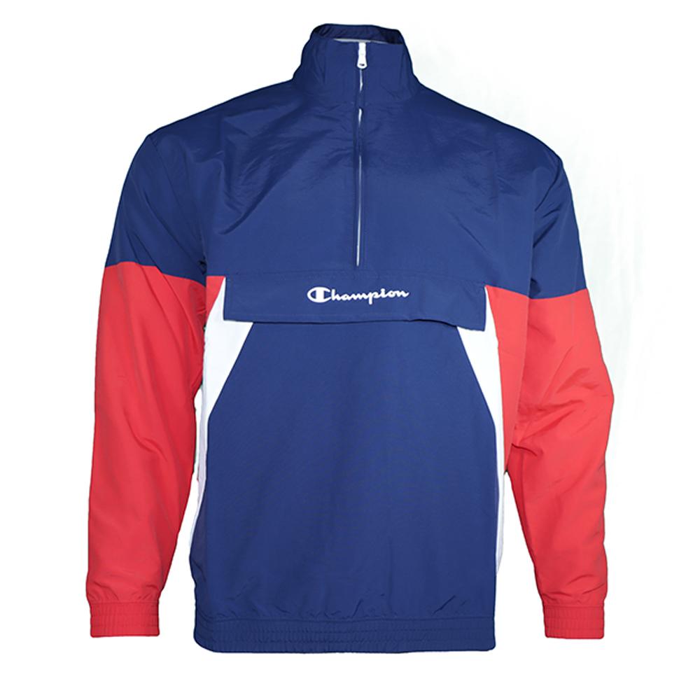 90´s Block Half Zip Sweatshirt XL