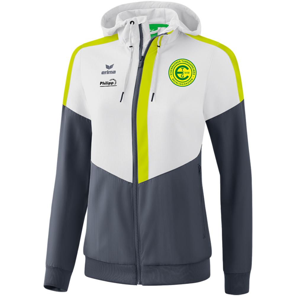 ETG Tracktop Jacke mit Kapuze Damen