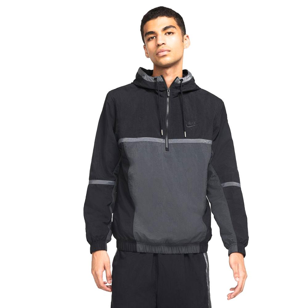 Sportswear Hooded Woven Lined Jacket