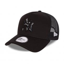 Camo Infill Trucker New York Yankees