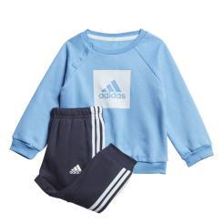 3-Streifen Fleece Jogginganzug Kinder