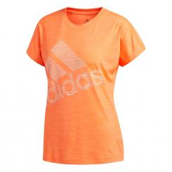 Badge of Sport Logo T-Shirt Damen
