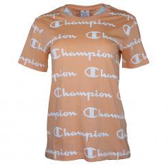 Crewneck Logo T-Shirt Damen
