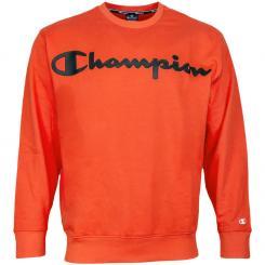 Crewneck Sweatshirt Over Logo