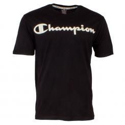 Crewneck T-Shirt Over Logo