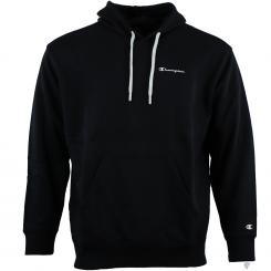 Hooded Sweatshirt Over Logo