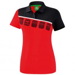 5-C Poloshirt Damen