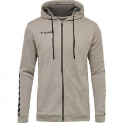 Authentic Poly Zip Hoody