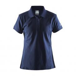 Classic Pique Poloshirt Damen