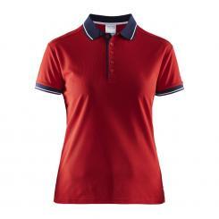 Pique Poloshirt Damen