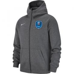 PSG Academy Full Zip Hoodie Junior