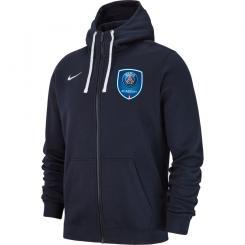 PSG Academy Full Zip Hoodie Senior