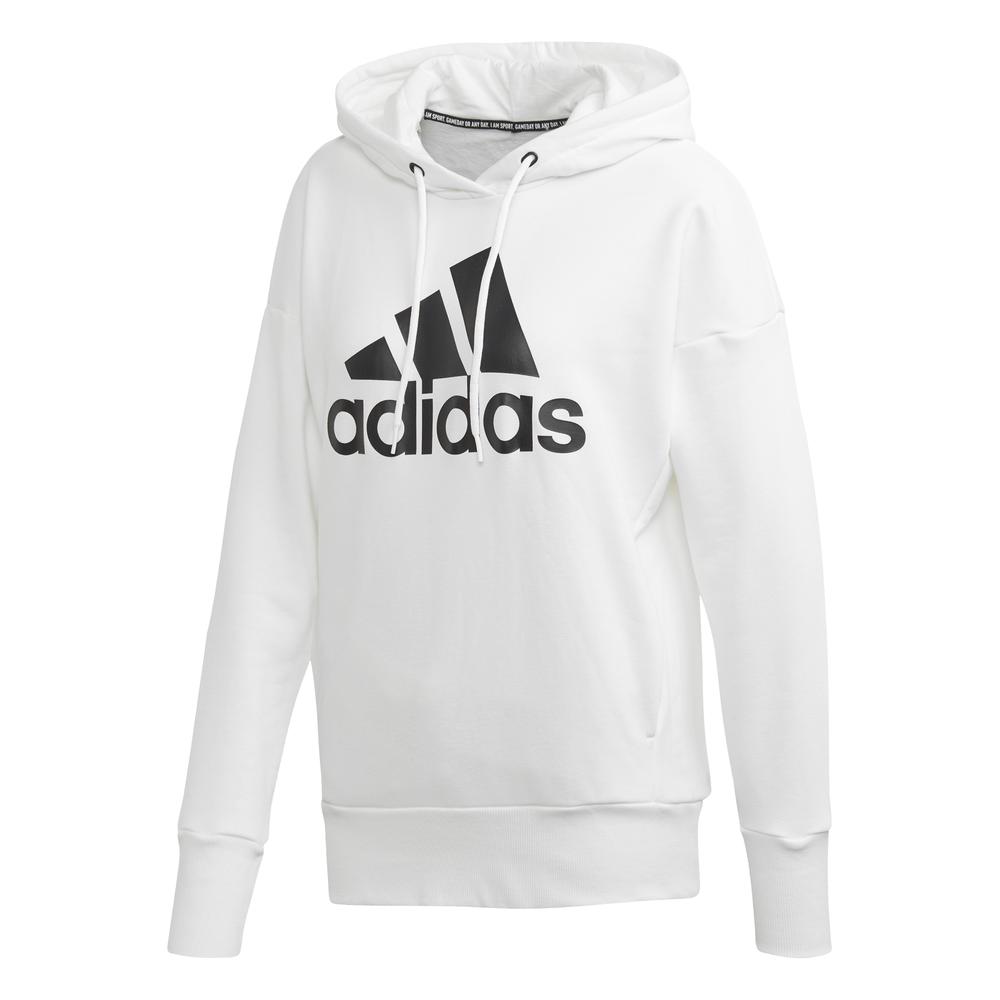 adidas Damen Hoodie Badge Of Sport Long BLACK M | real