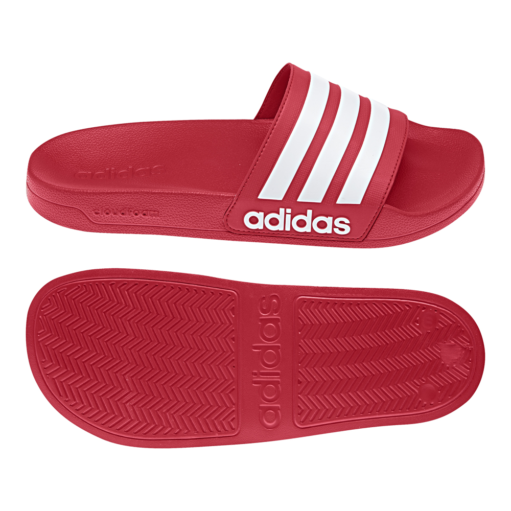 adidas badelatschen cf adilette rot herren aq1705 neu. Black Bedroom Furniture Sets. Home Design Ideas