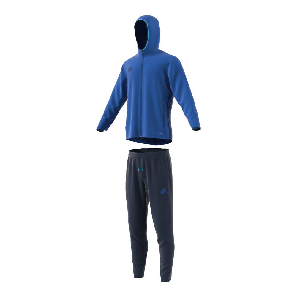 adidas anzug condivo 16 pr sentationsanzug blau herren. Black Bedroom Furniture Sets. Home Design Ideas