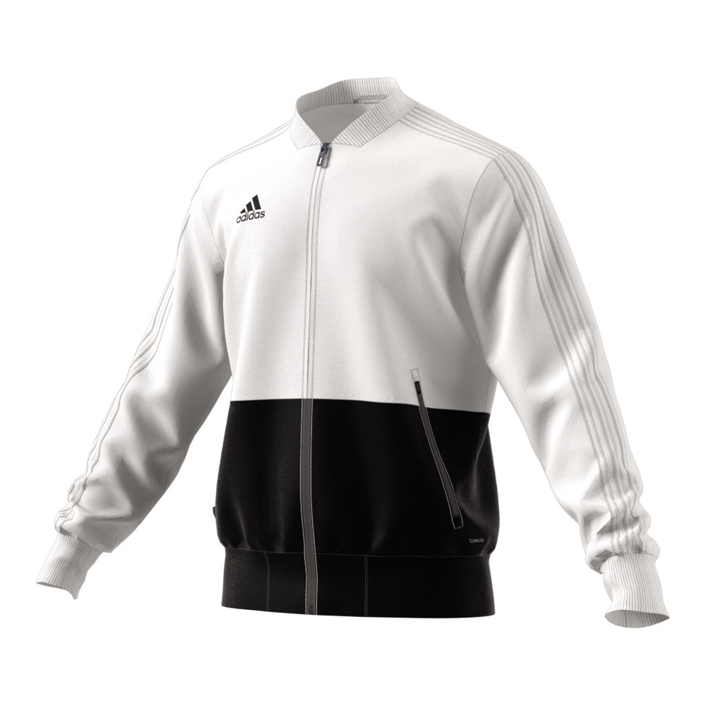 adidas jacke condivo 18 pr sentationsjacke weiss herren. Black Bedroom Furniture Sets. Home Design Ideas