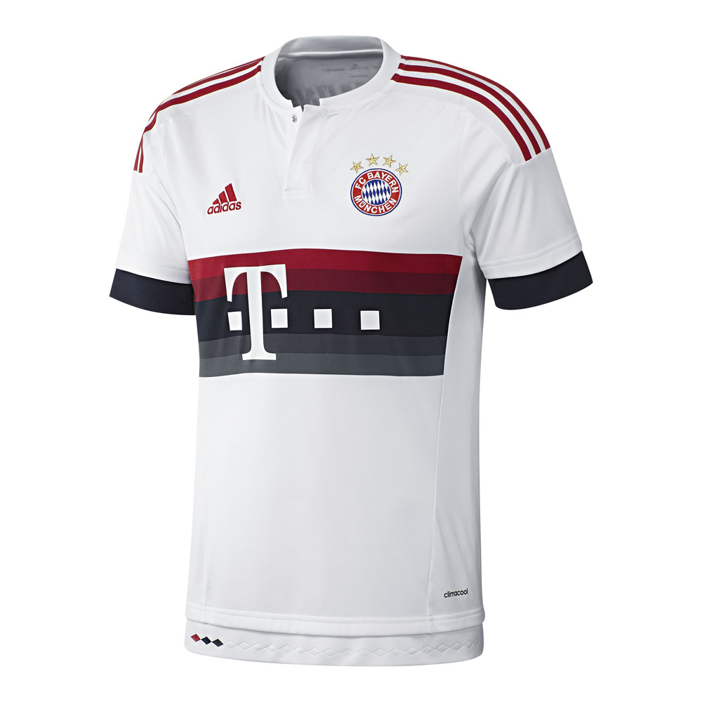adidas fc bayern m nchen ausw rts trikot 2015 2016 ah4790. Black Bedroom Furniture Sets. Home Design Ideas