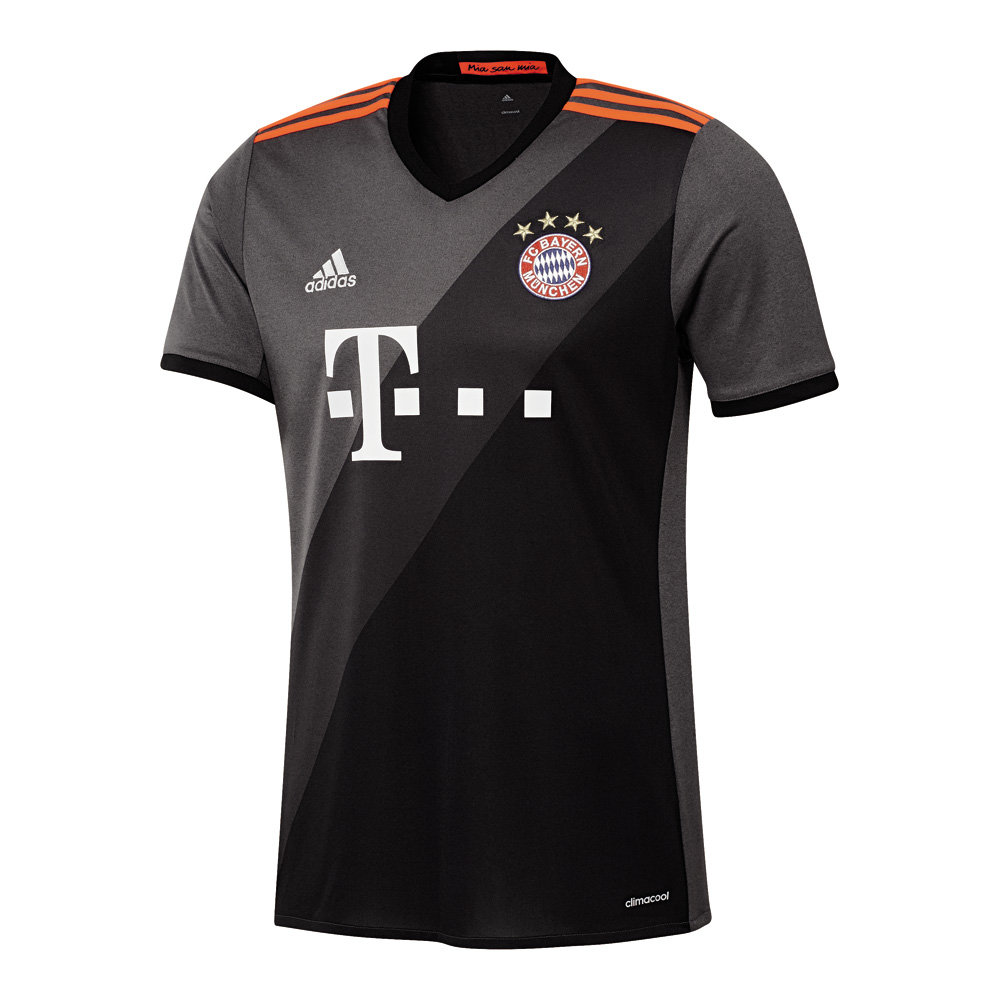 adidas fc bayern m nchen ausw rts trikot 2016 2017 kinder. Black Bedroom Furniture Sets. Home Design Ideas