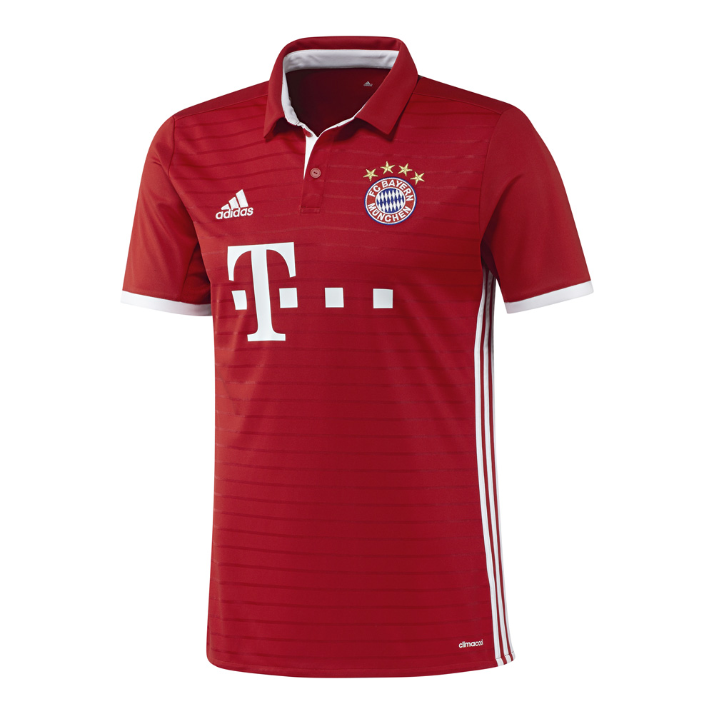adidas fc bayern m nchen heim trikot 2016 2017 kinder ai0055 teamsport philipp. Black Bedroom Furniture Sets. Home Design Ideas