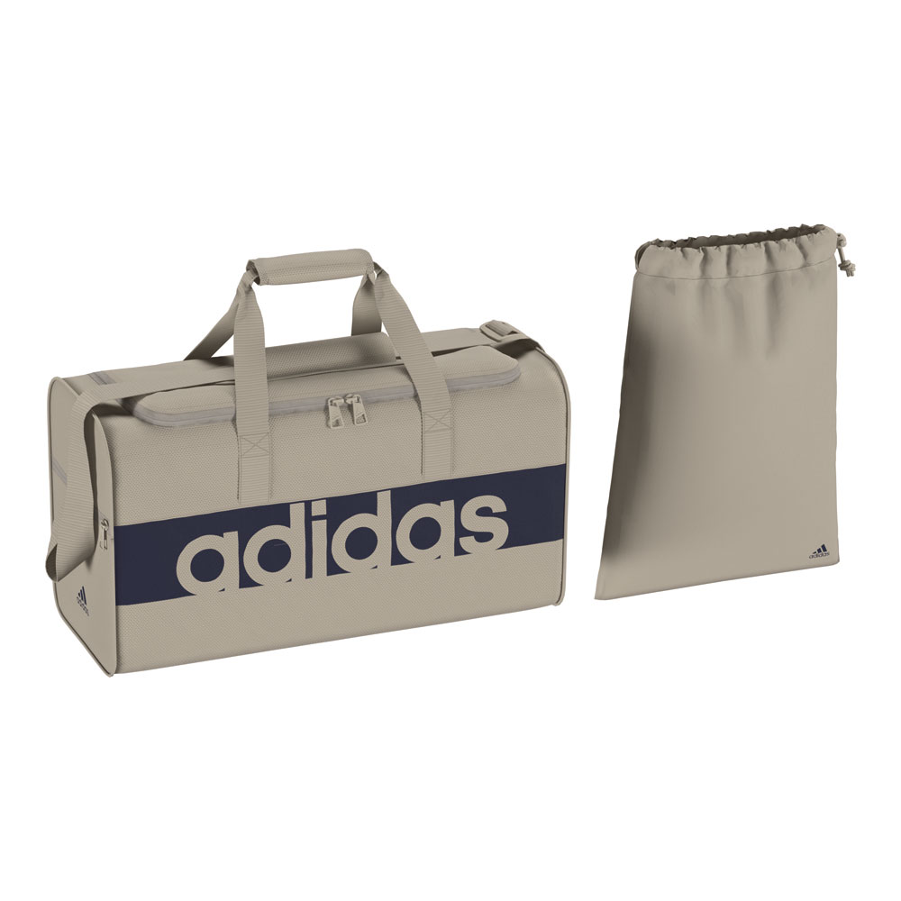 adidas tasche linear performance teambag s beige herren. Black Bedroom Furniture Sets. Home Design Ideas
