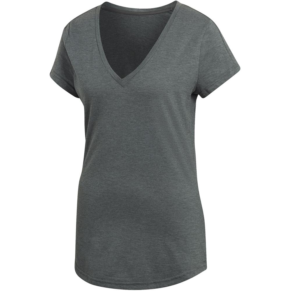 save off 72499 6a976 Logo T-Shirt V-Ausschnitt Damen