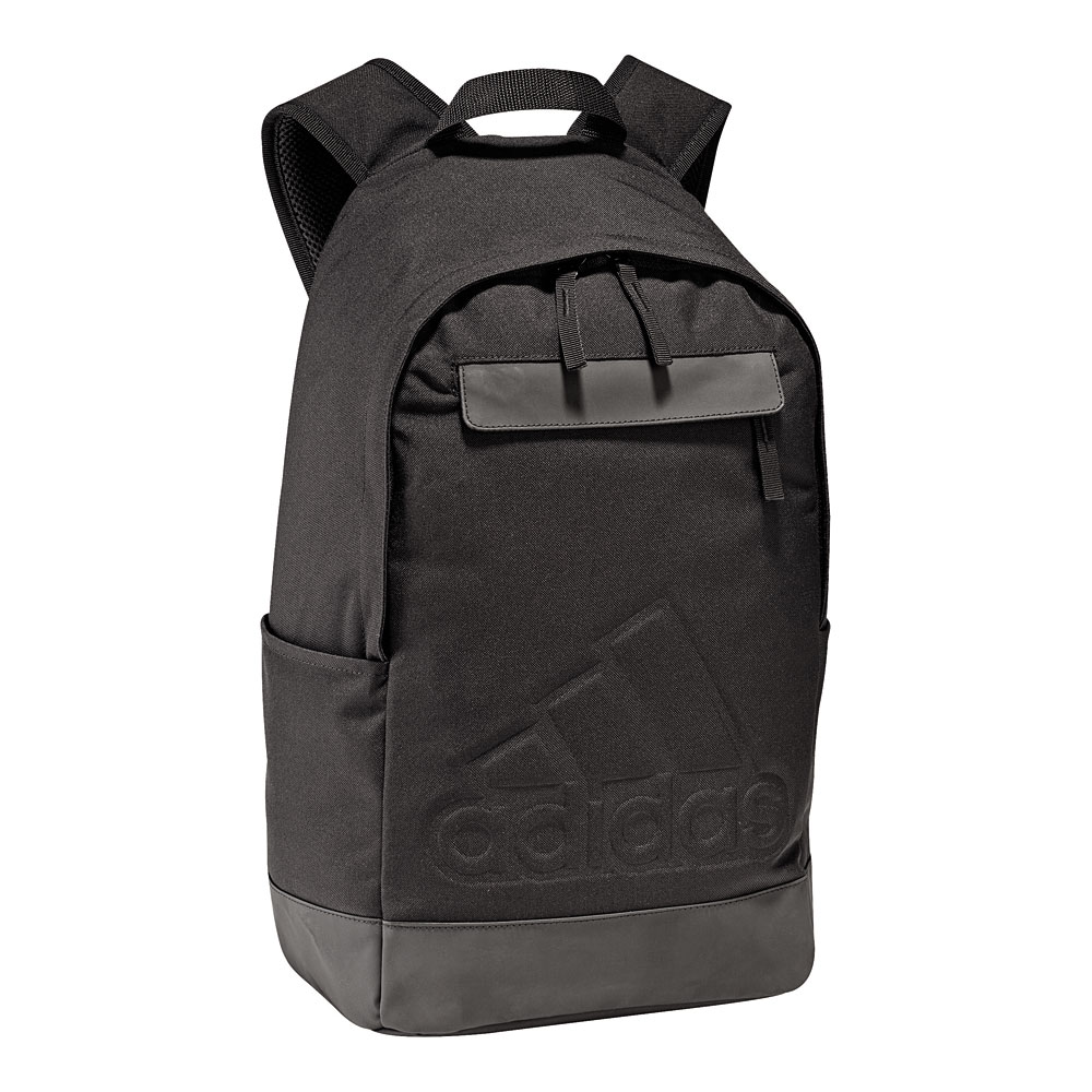 adidas rucksack classic m bos schwarz herren damen kinder cf3301 neu ovp ebay. Black Bedroom Furniture Sets. Home Design Ideas
