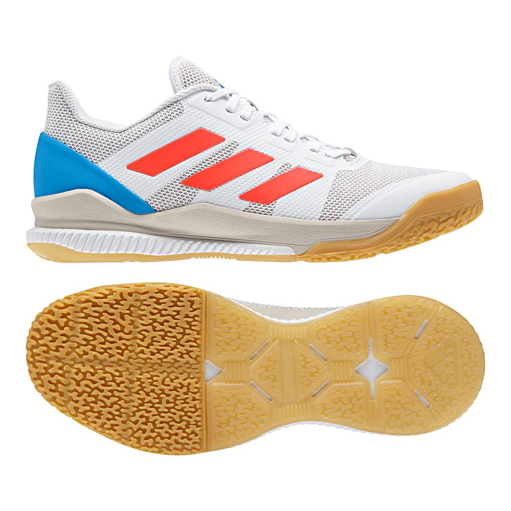 Adidas Handball Stabil Bounce Schuhe Weiß B22574