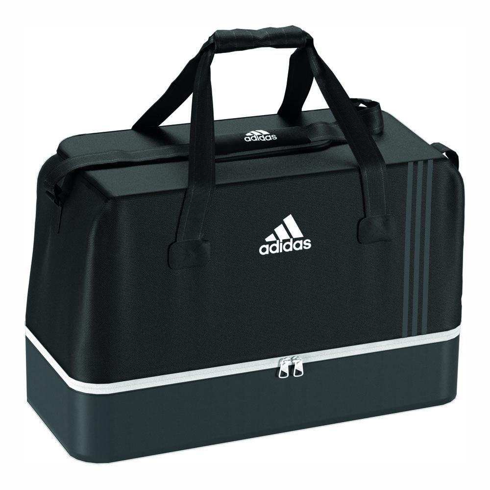 adidas tasche tiro 17 sporttasche m bodenfach l schwarz. Black Bedroom Furniture Sets. Home Design Ideas