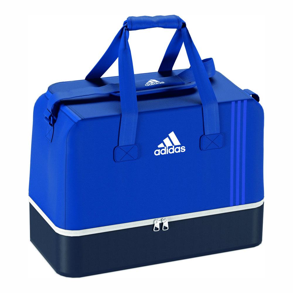 adidas tasche tiro 17 sporttasche m bodenfach m blau. Black Bedroom Furniture Sets. Home Design Ideas