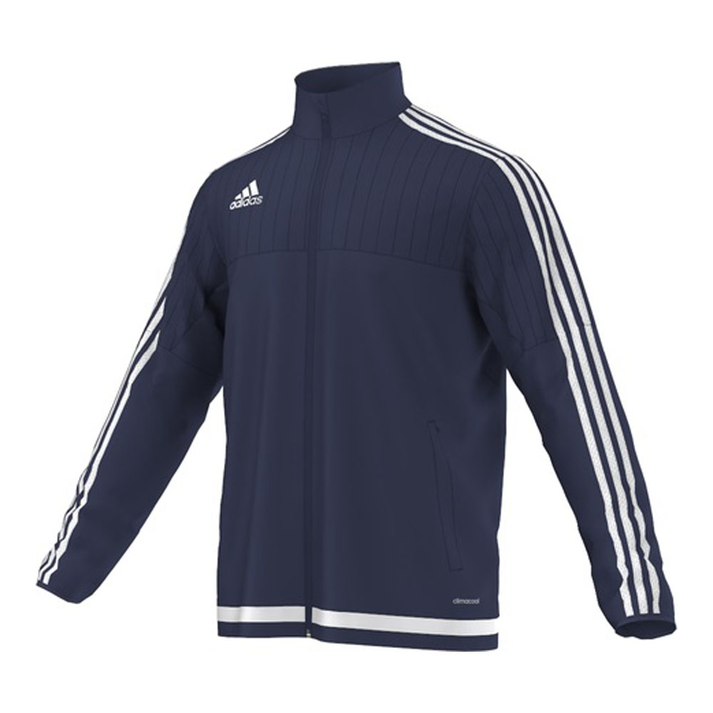 adidas jacke trainingsjacke tiro 15 blau herren s22316. Black Bedroom Furniture Sets. Home Design Ideas