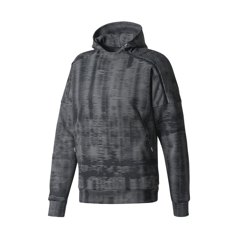 adidas pullover zne pulse jacquard hoodie schwarz herren. Black Bedroom Furniture Sets. Home Design Ideas