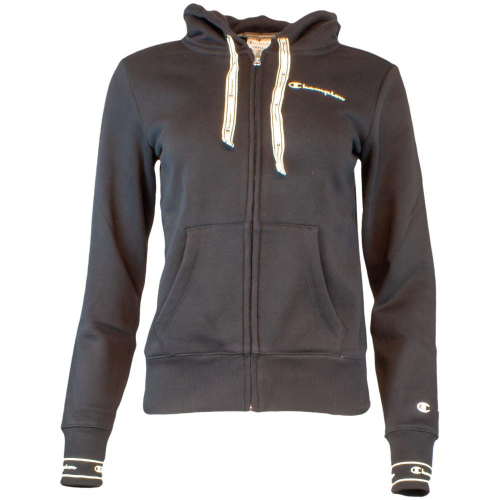 Hooded Full Zip Sweatjacke