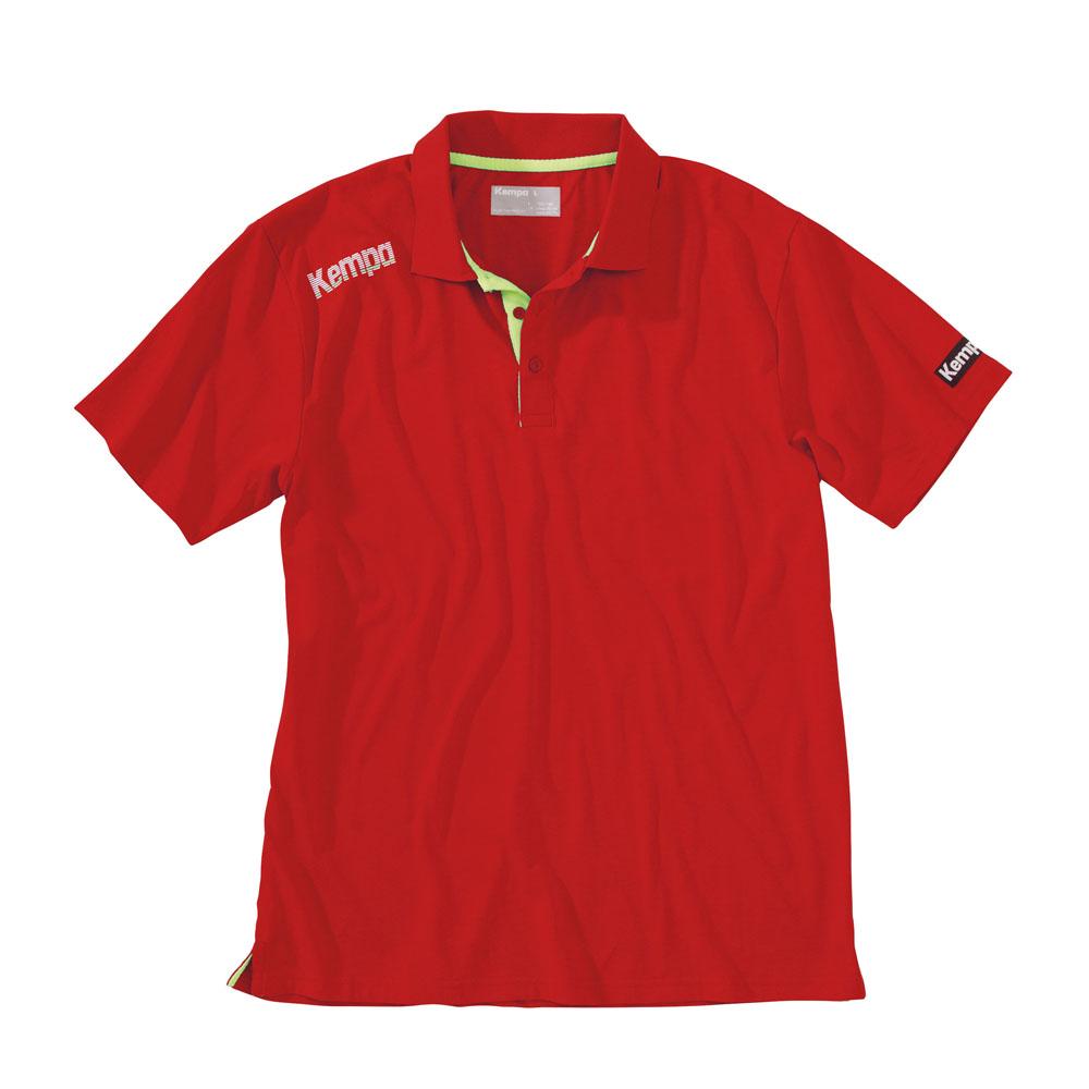 teamsport philipp kempa core polo shirt kinder xs. Black Bedroom Furniture Sets. Home Design Ideas