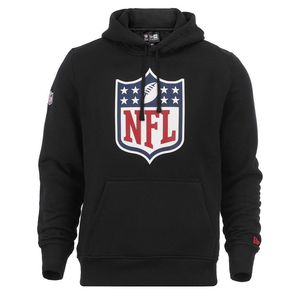New Era Herren Kapuzenpullover NFL Logo Hoodie Schwarz (XL