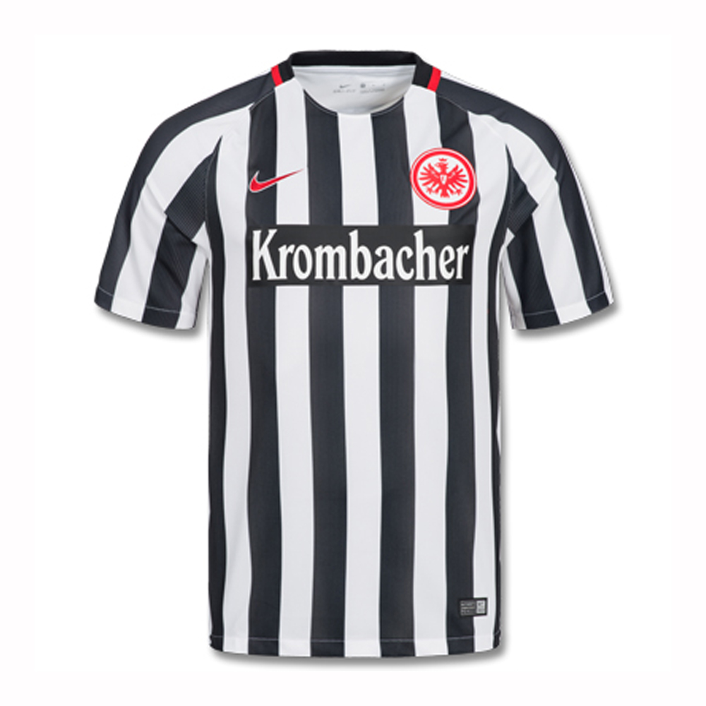 nike eintracht frankfurt heim trikot 2016 2017 808425 100. Black Bedroom Furniture Sets. Home Design Ideas