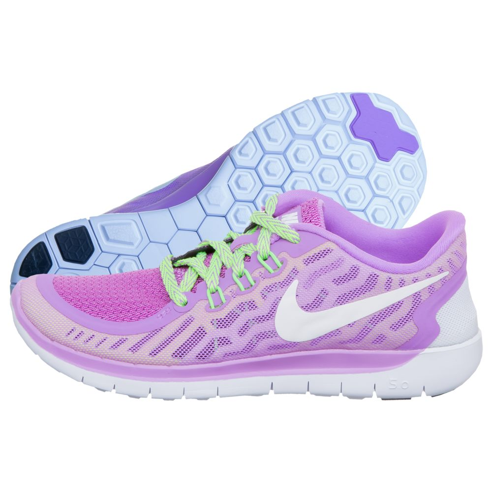 Nike Free Run Damen Günstige 2018 Damen Nike Free 5.0 Lila Freizeitschuhe
