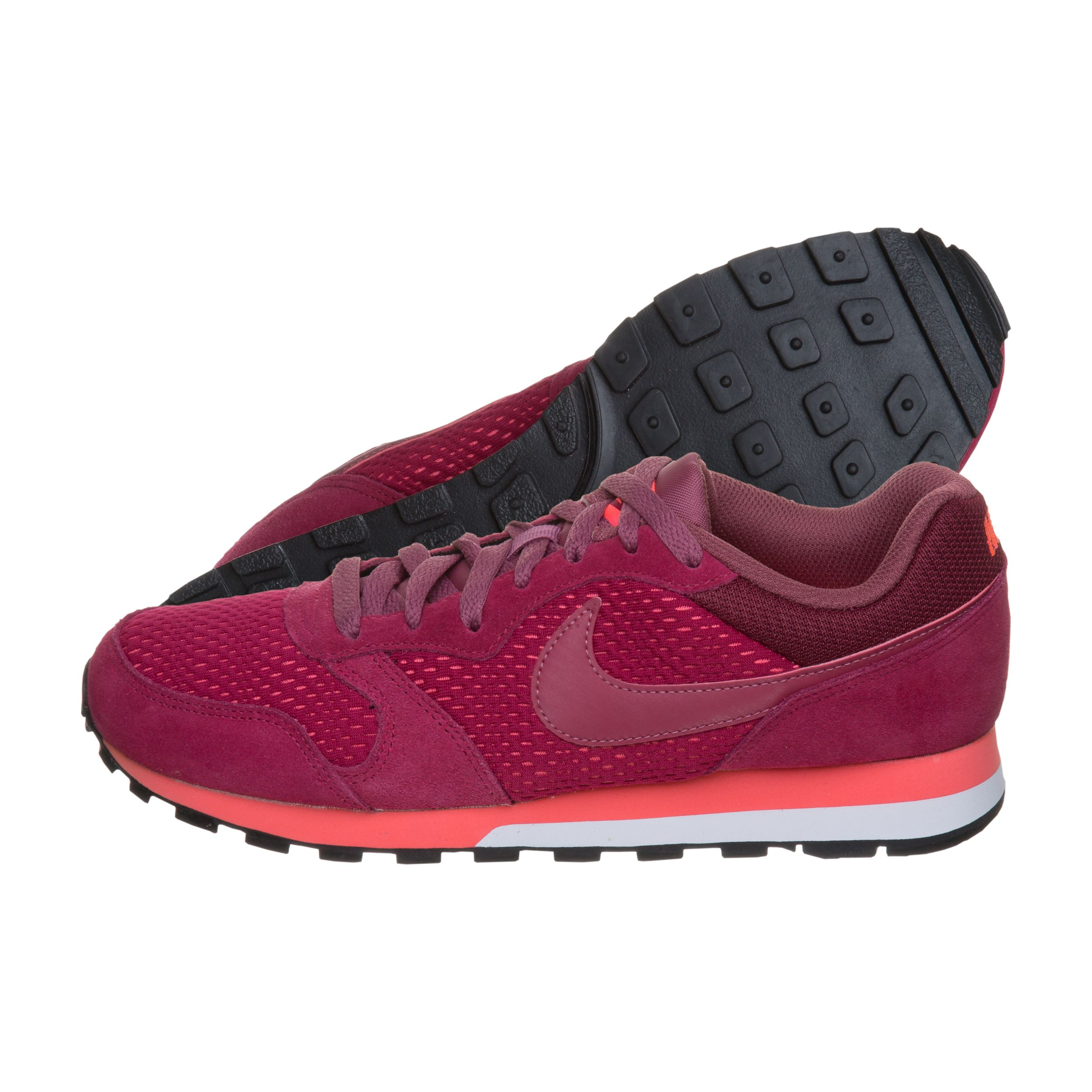 Nike Damen MD Runner 2 Sneakers, Rot (Noble Re D Port Hot Punch), 36.5 EU