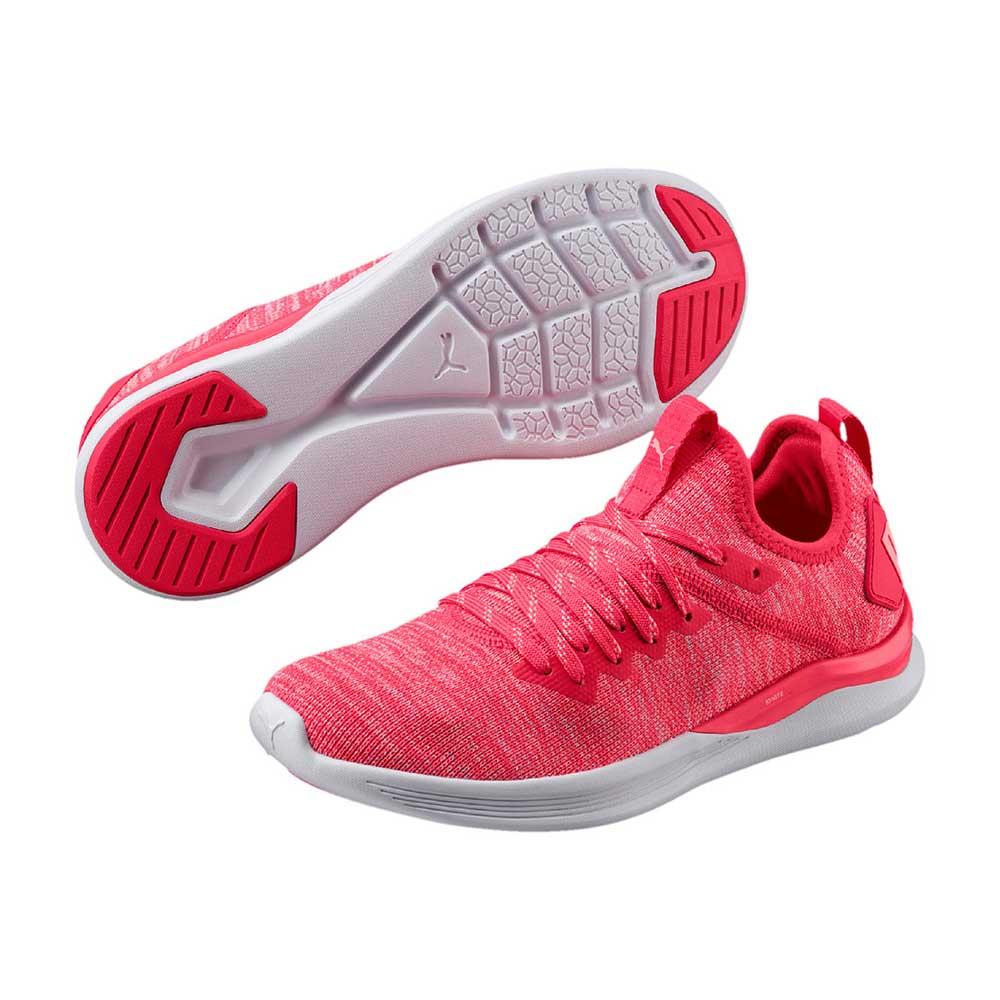 shopping footwear popular stores Puma IGNITE Flash evoKNIT Schuhe rot versandkostenfreie ...