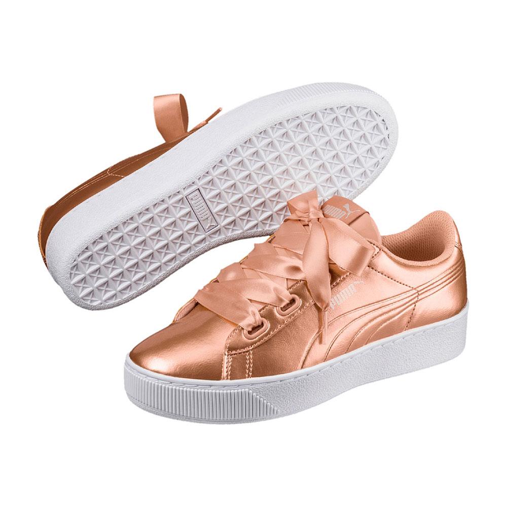Guter Preis Puma Puma Vikky Platform Sneaker in pink Damen