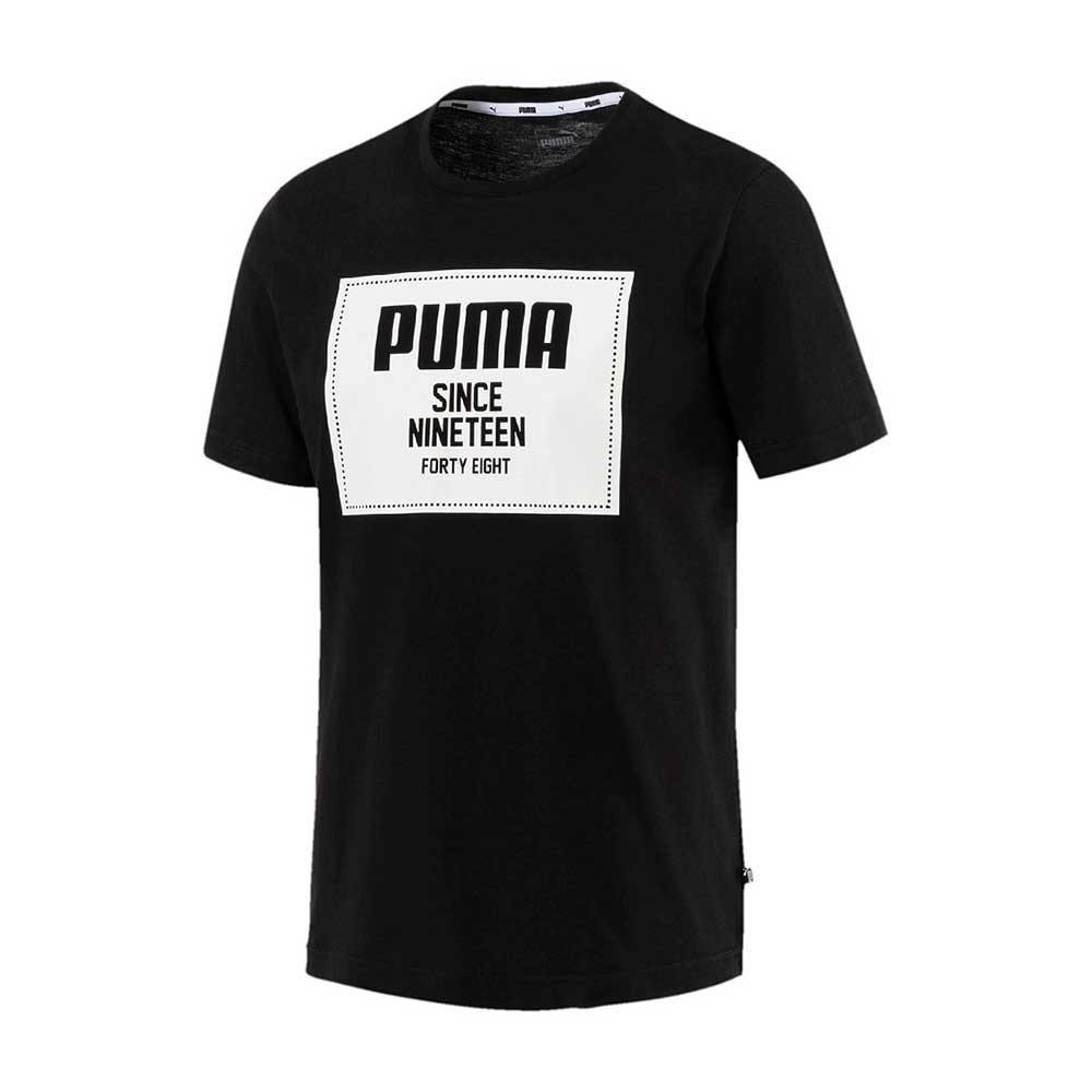9450850729d Teamsport Philipp | Puma Rebel Block Basic T-Shirt 852395-0001 ...