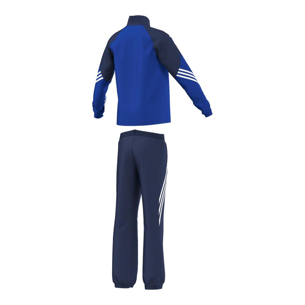 adidas anzug sereno 14 pr sentationsanzug junior blau. Black Bedroom Furniture Sets. Home Design Ideas
