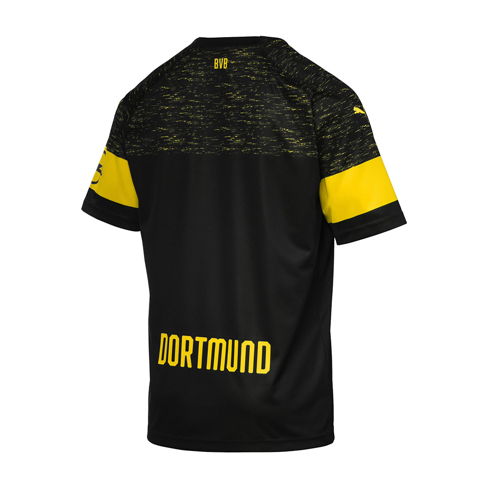 Puma Trikot BVB Borussia Dortmund Auswärtstrikot 2018/2019 Kinder Kinder 2018/2019 schwarz 0e6815